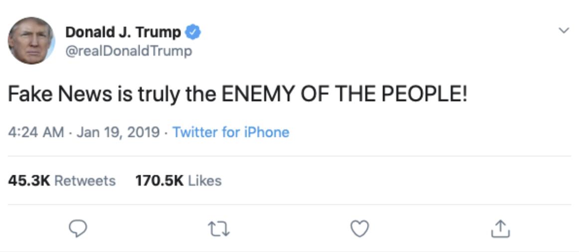 Tweet TRUMP