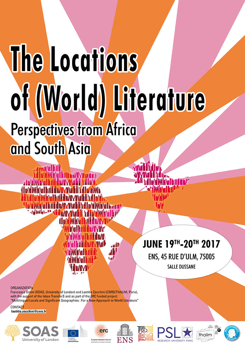 The Locations of (World) Literature.